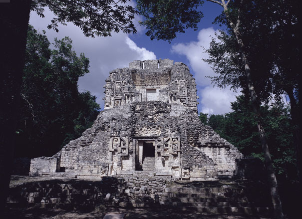 Chicanna Mayan Temple