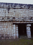 Temple of the Phalluses in Old Chichen Itza - chichen itza mayan ruins,chichen itza mayan temple,mayan temple pictures,mayan ruins photos