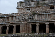 North Palace at Sayil Ruins - sayil mayan ruins,sayil mayan temple,mayan temple pictures,mayan ruins photos
